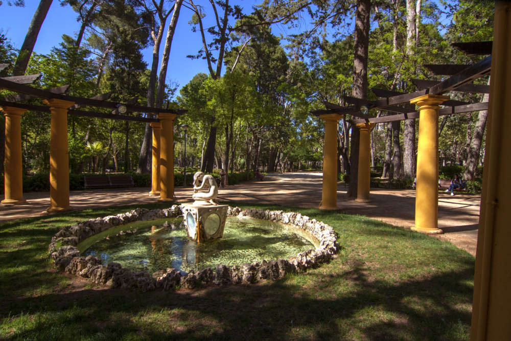 Jardín de Albacete